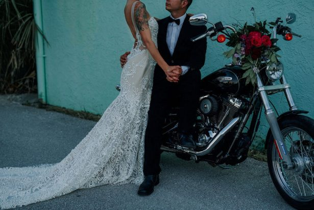 rock and roll wedding inspiration - Lindsey Morgan Photography