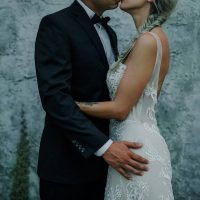 rockin style wedding inspiration - Lindsey Morgan Photography
