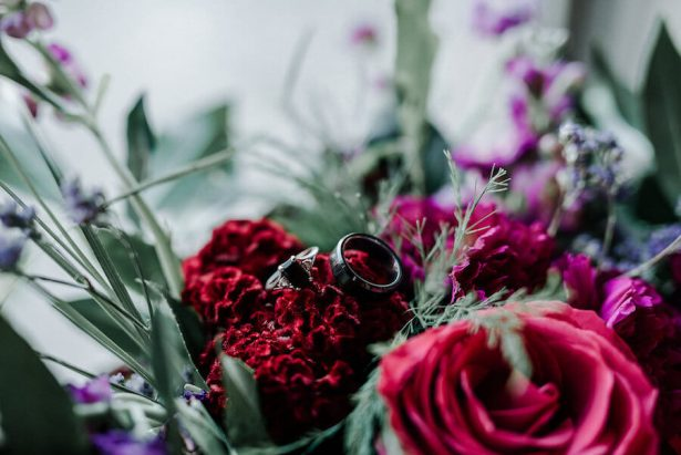 wedding rings - Lindsey Morgan Photography