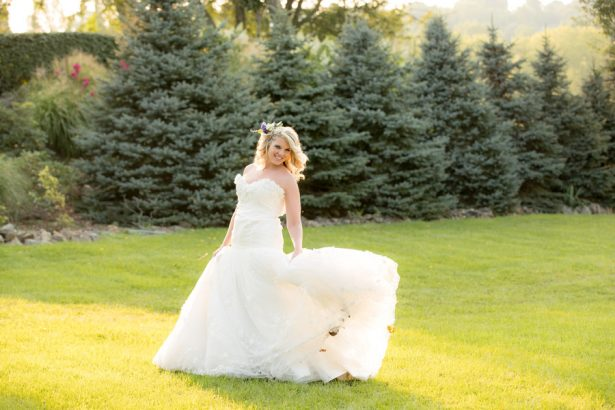 Beautiful Garden Bride - Images by Berit