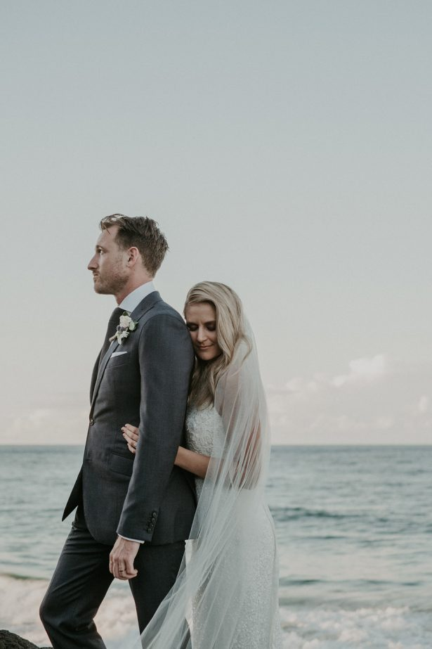 Beautiful Seaside Sophisticated Wedding Photo - Lucas & Co Photography