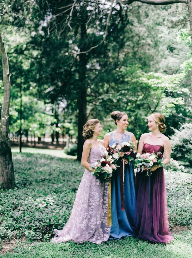 Davids Bridal Bridesmaid Dresses - Nikki Santerre Photographer