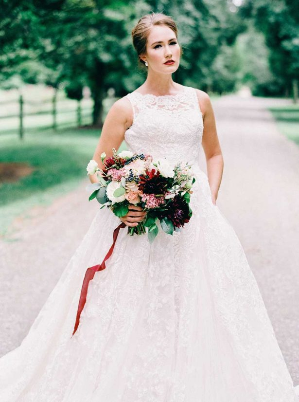 Davids Bridal Wedding Dress - Nikki Santerre Photographer