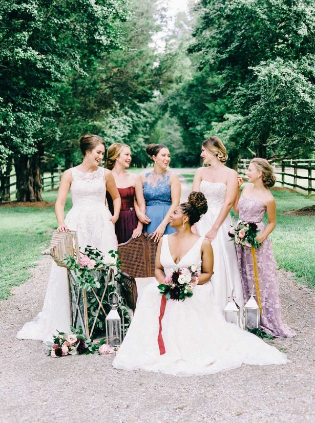 Davids Bridal Wedding Inspiration - Nikki Santerre Photographer