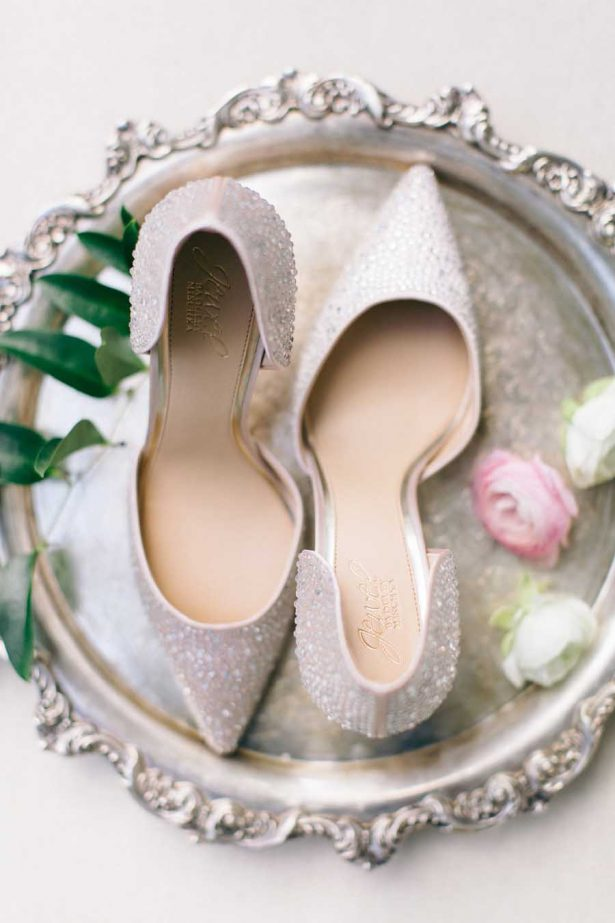 Davids Bridal Wedding Shoes - Nikki Santerre Photographer