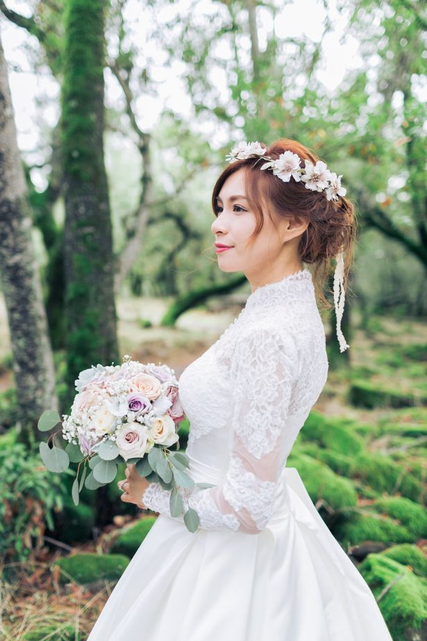 Fall Bridal Look - Stella Yang Photography