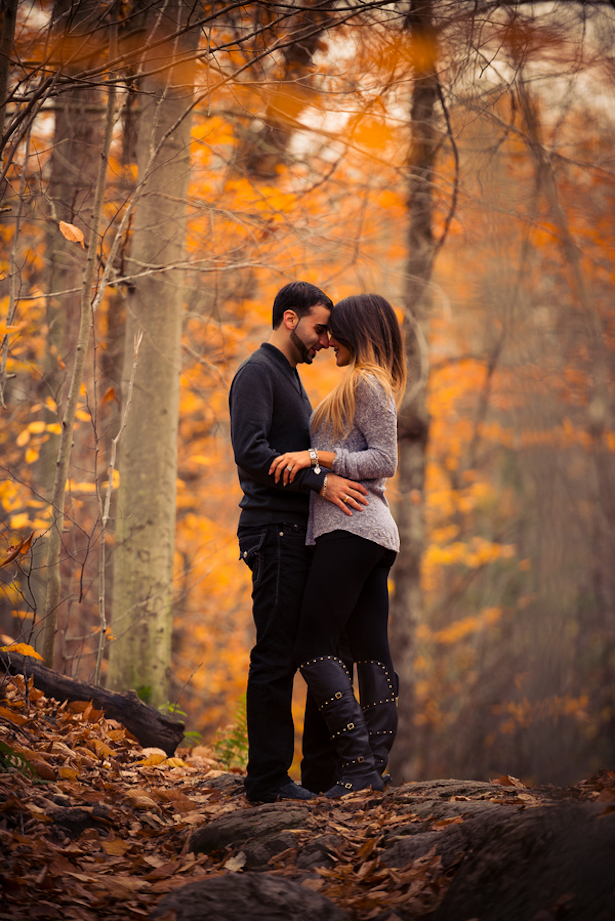 Fall Engagement Session - Nick Ghatlas Photography
