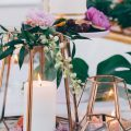 Fall Wedding Centerpieces - Photographer: Hailley Howard