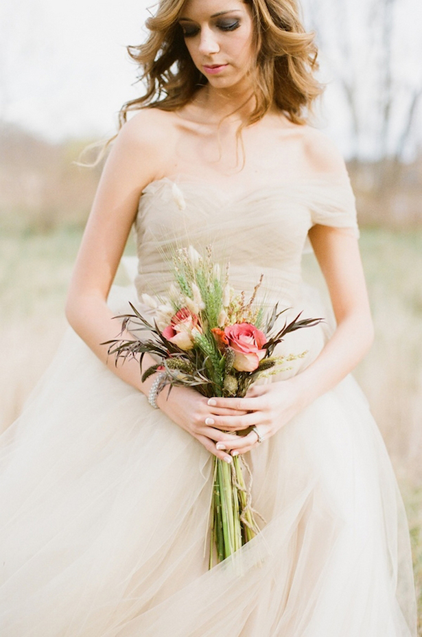Fall Wedding Dress - Alea Lovely Fine Art Photographer