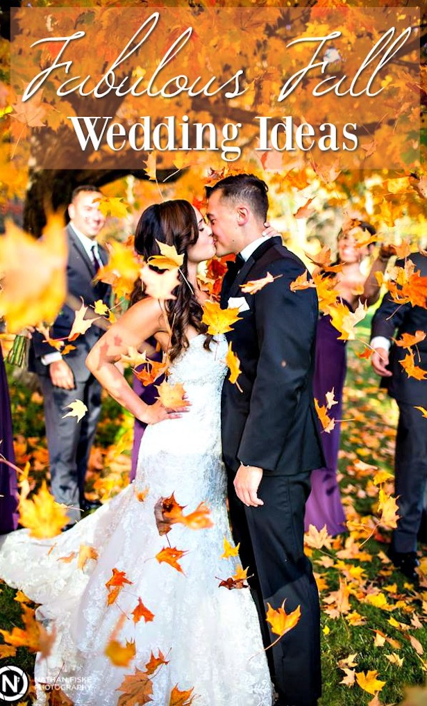 Fall Wedding Ideas Nathan Fiske Photography