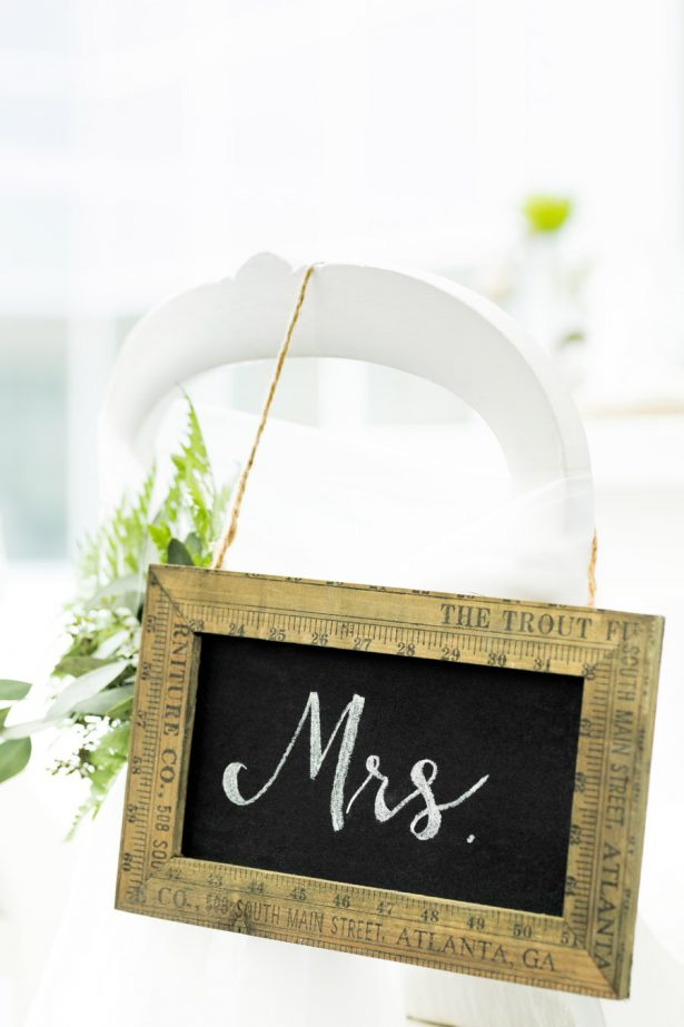 Wedding Sign - Tom Wang Photography