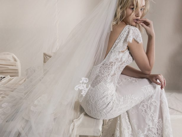 Wedding Dresses by Lihi Hod Fall 2018 Couture Bridal Collection : A Whiter Shade of Pale