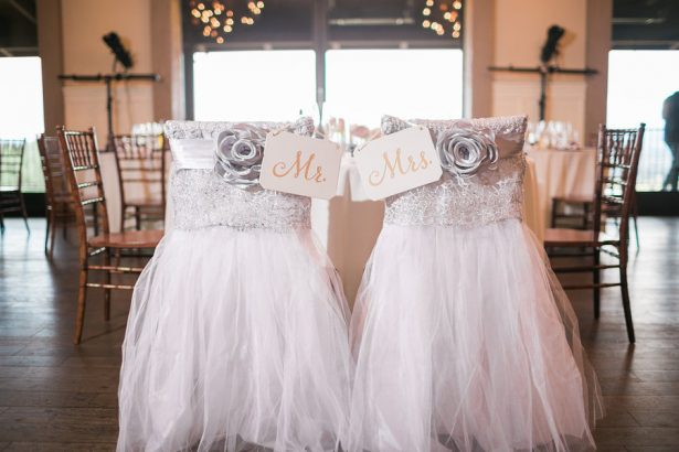 Mr and Mrs Wedding Chairs - Stella Yang Photography