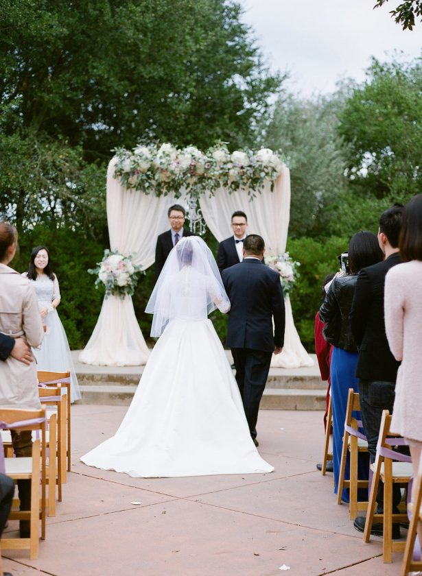Outdoors Wedding Ceremony - Stella Yang Photography
