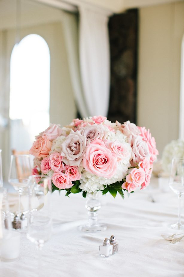 Pink Wedding Centerpiece - Absolutely Loved Photography