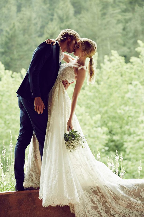 Romantic Wedding Photos and Love Quotes - via Pronovias