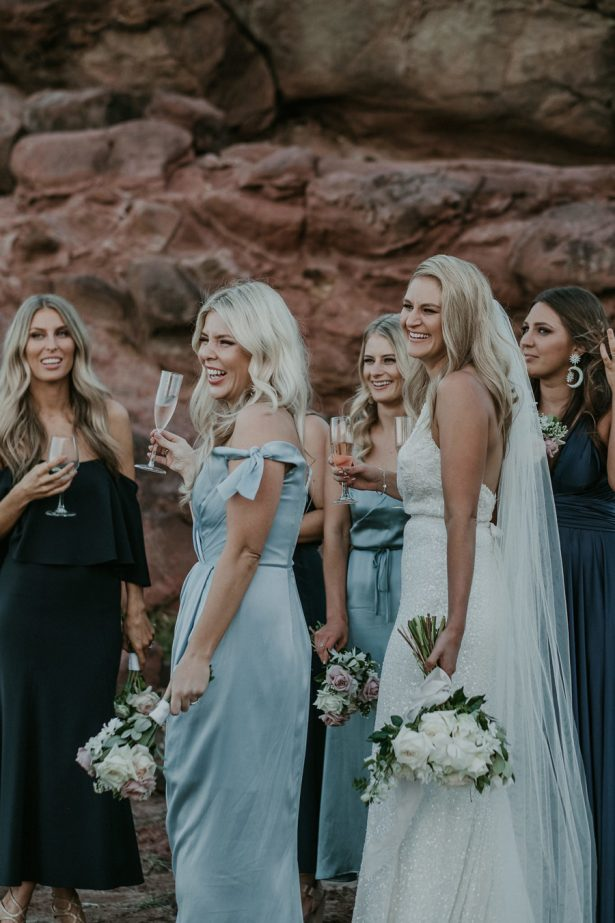 Seaside Bridal Party - Lucas & Co Photography