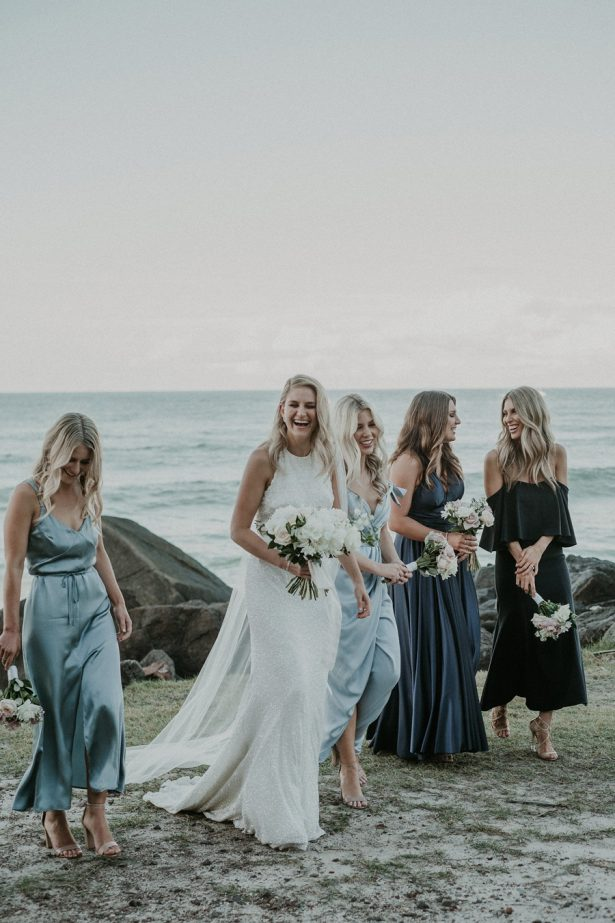Bridal Party | Ocean-Inspired Wedding - Lucas & Co Photography