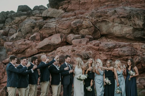Seaside Wedding Party - Lucas & Co Photography