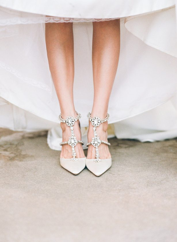 Stylish Wedding Shoes - Stella Yang Photography