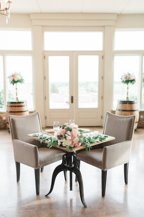 Sweetheart Wedding Table - Alicia Lacey Photography