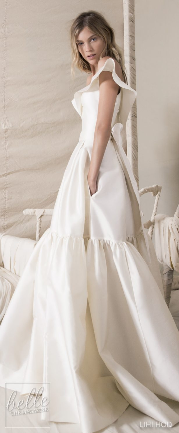 Wedding Dresses by Lihi Hod Fall 2018 Couture Bridal Collection - Buttercup #WddingDress
