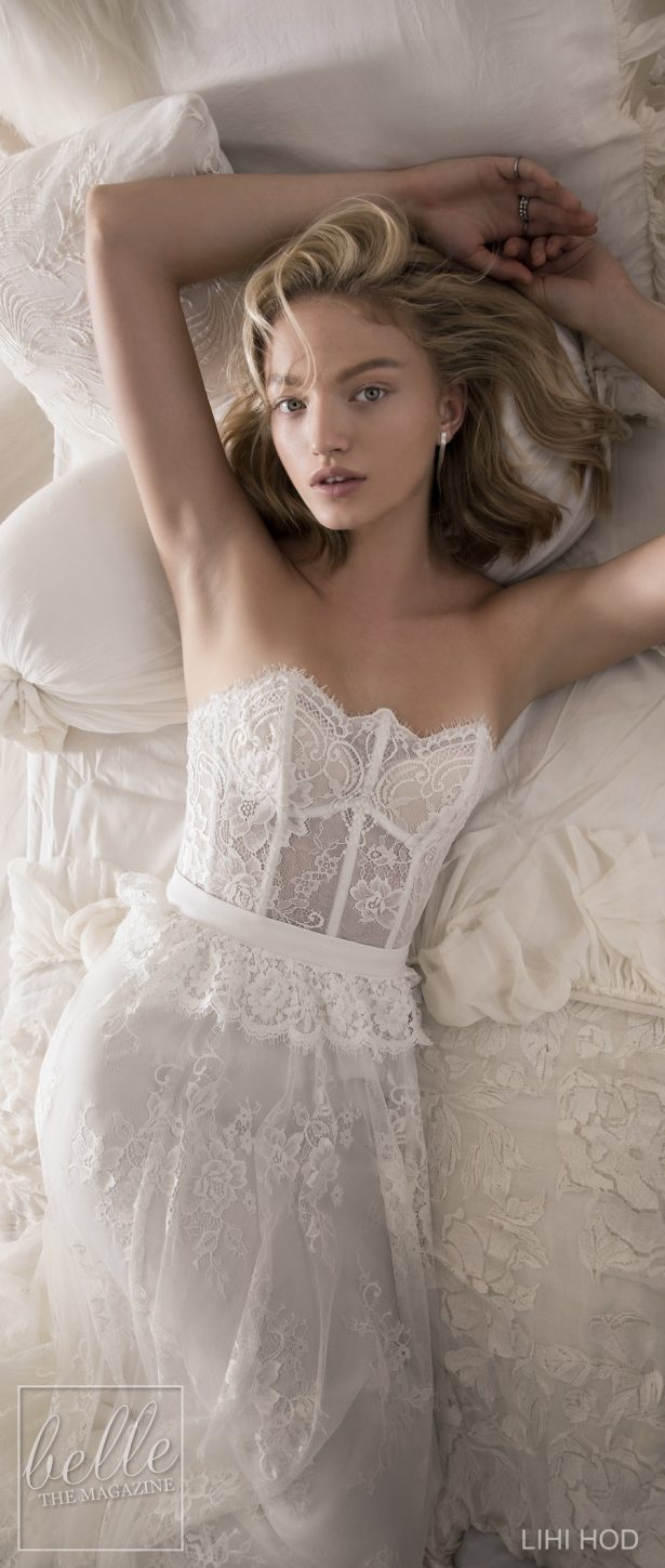 Wedding Dresses by Lihi Hod Fall 2018 Couture Bridal Collection - Emilie #WeddingDress