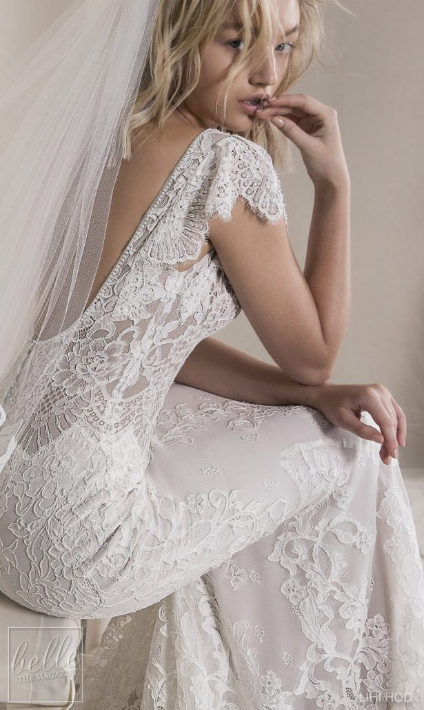 Wedding Dresses by Lihi Hod Fall 2018 Couture Bridal Collection - Luna #WeddingDress