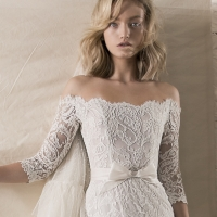 Winter Wedding Dress - Wedding Dresses by Lihi Hod Fall 2018 Couture Bridal Collection - Leonora #WeddingDress