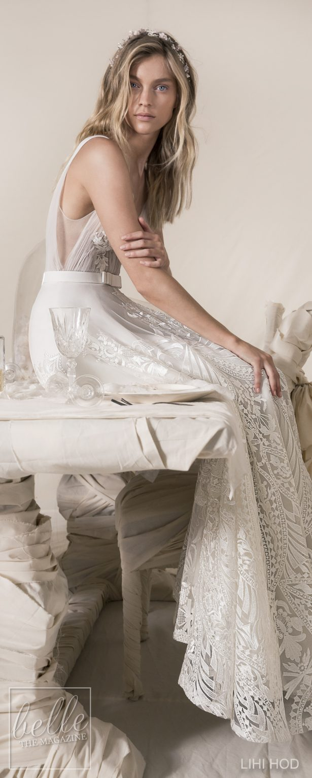 Wedding Dresses by Lihi Hod Fall 2018 Couture Bridal Collection - Violet #WeddingDress
