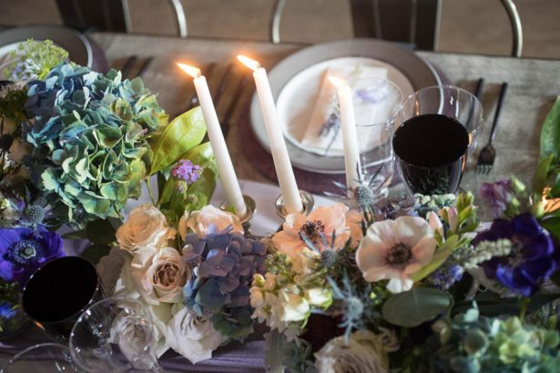 Wedding Tablescape Flowers - Images by Berit