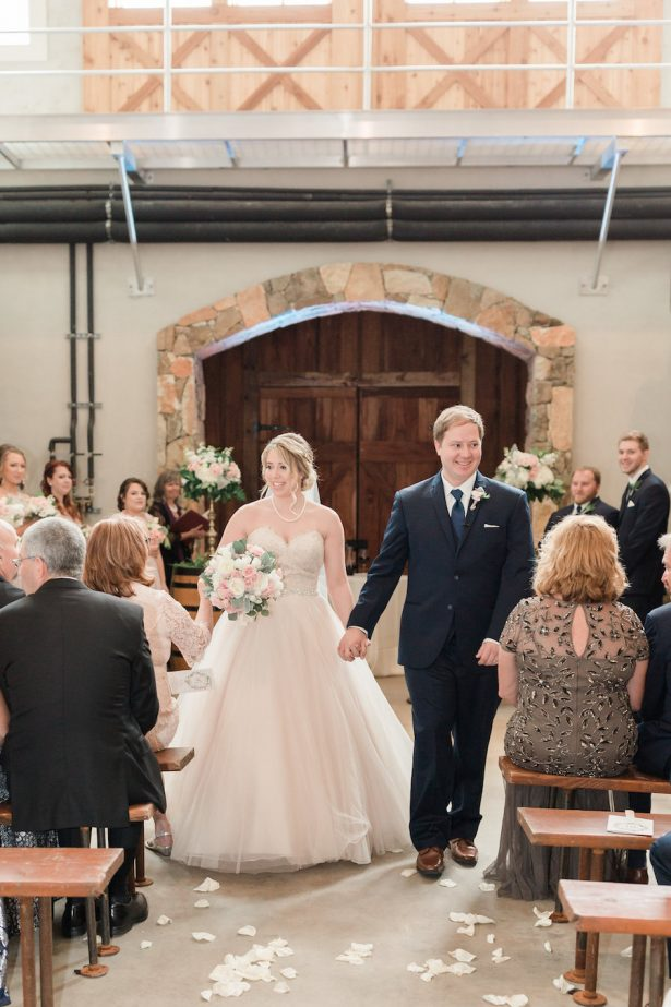 Winery Wedding Ceremony - Alicia Lacey Photography