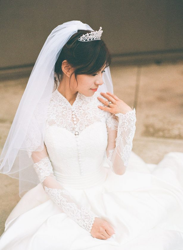Winter Bride - Stella Yang Photography