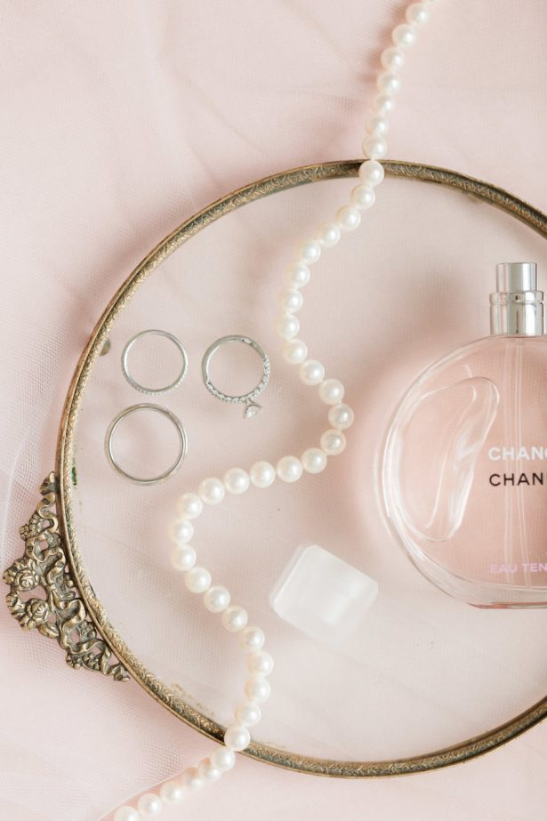 blush bridal accessories - Alicia Lacey Photography