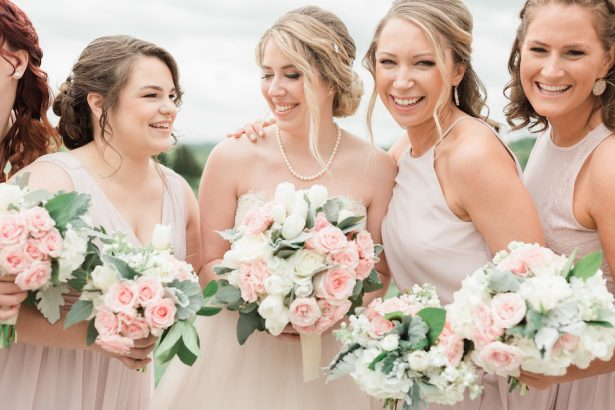 Elegant Blush Winery Wedding