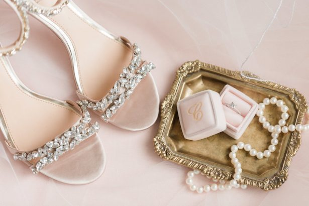 blush wedding shoes - Alicia Lacey Photography