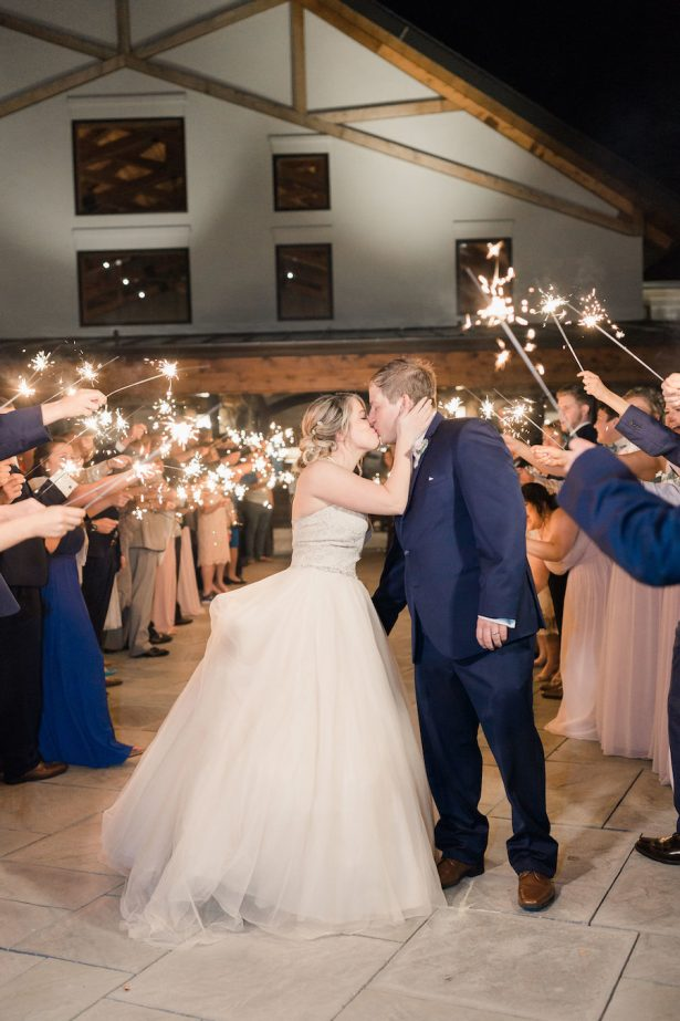 wedding exit - Alicia Lacey Photography
