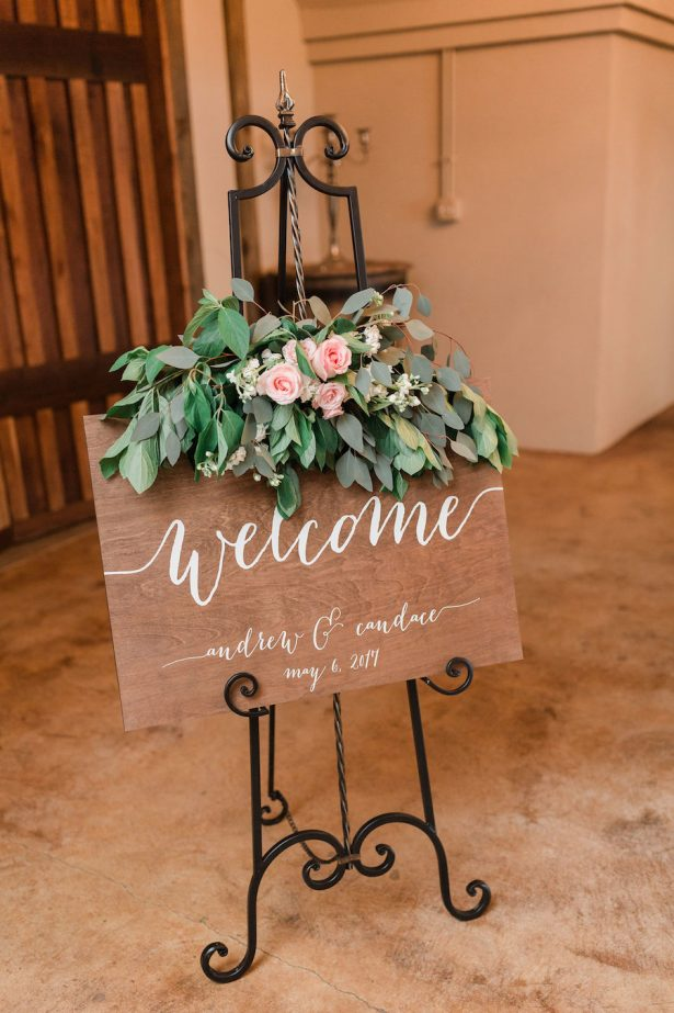 Wedding sign - Alicia Lacey Photography