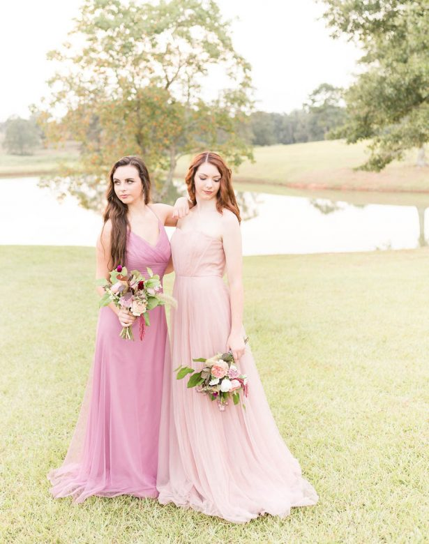 Blush Bridesmaid Dresses - Alexi Lee Photography