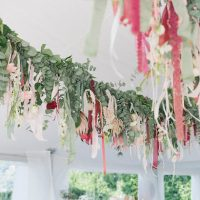 Bohemian Hanging Wedding decor - Photography: Irene Fucci