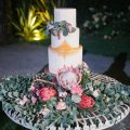 Bohemian Wedding Cake - Photography: Irene Fucc