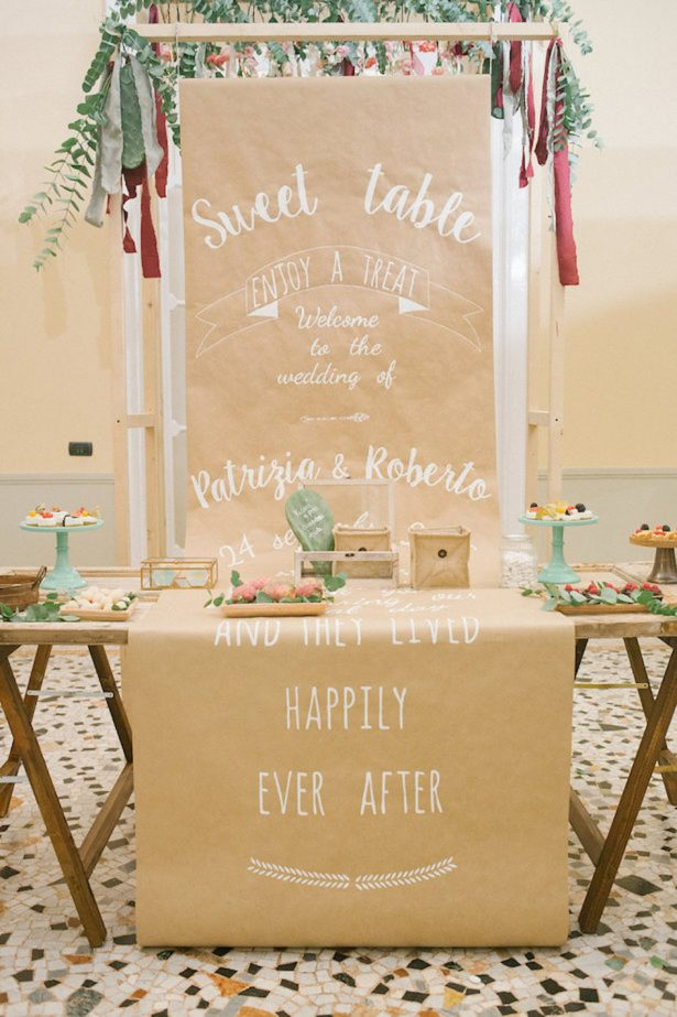 Boho Wedding Dessert Table - Photography: Irene Fucc