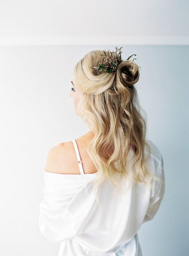Bridal Hairstyle- Sheri McMahon Photography