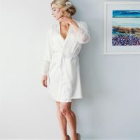 Bridal Robe - Sheri McMahon Photography