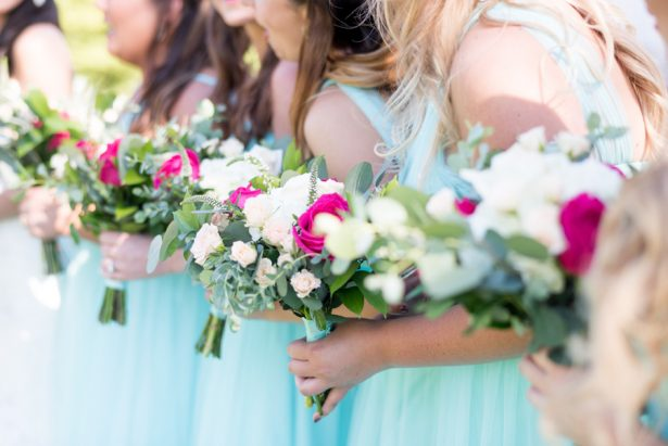 Bridesmaid Bouquets - Shane Hawkins Photography