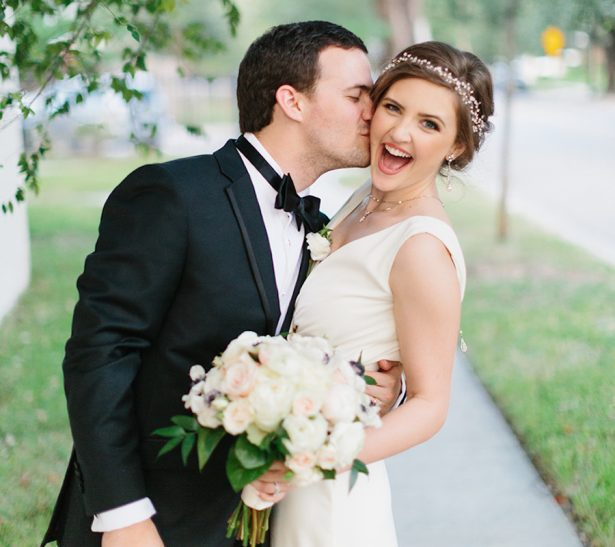 Classic and Glamorous Black Tie Houston Wedding