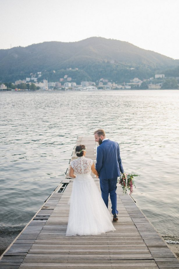 Colorful Boho Lake Como Wedding - Photography: Irene Fucci