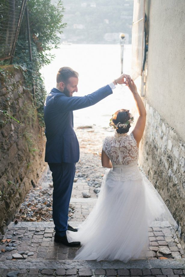 Colorful Boho Lake Como Wedding in Italy - Photography: Irene Fucci