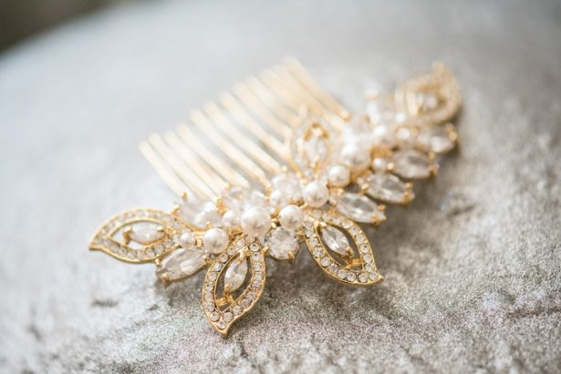 Bridal Hairpiece - Shane Hawkins Photography