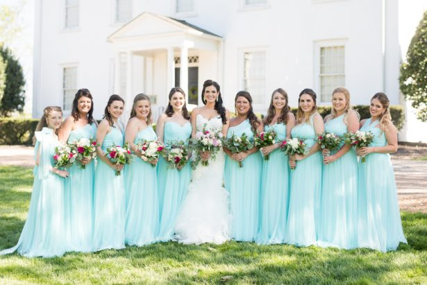 Disney Inspired Bridal Party - Shane Hawkins Photography